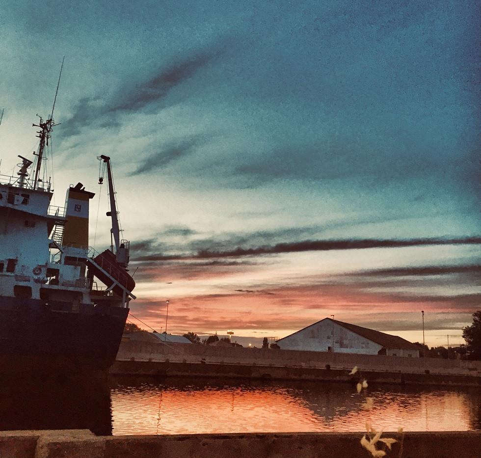 ...a západ slunce