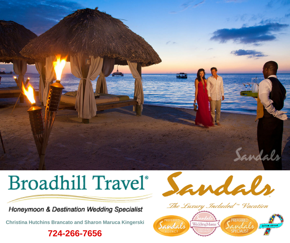 7c20b0d96 Sandals Preferred Agency for Caribbean Luxury Included Vacations
