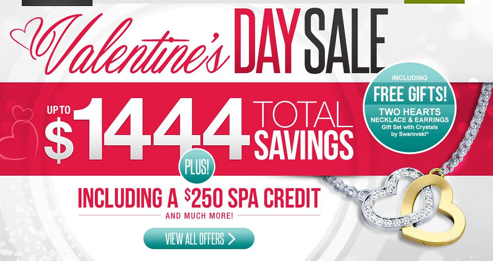 Valentine's Day Sale  Includes free Gifts