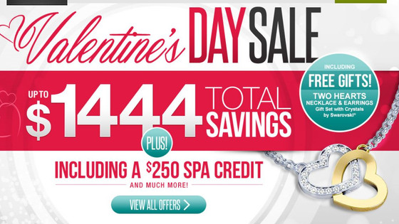 Broadhill Travel: Valentine's Day Sale   at Sandals All inclusive Caribbean Resort