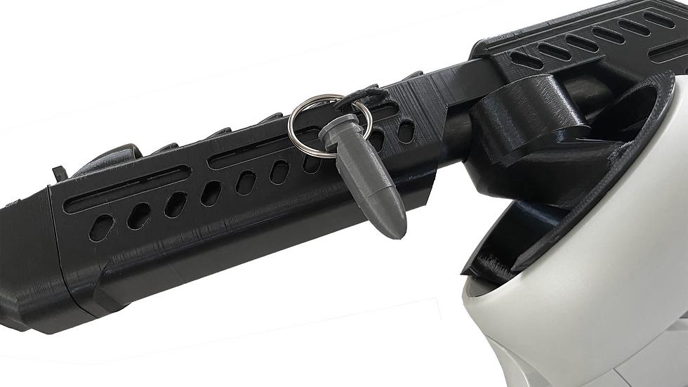 Gun Stock Weapon Charm