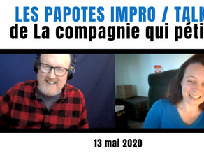 Papote Impro : [in ENG] Peggy Pexy Green reçoit Joe Bill !
