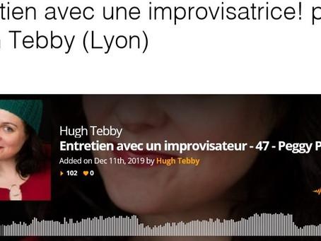 Entretien avec une improvisatrice! par Hugh Tebby (Lyon)