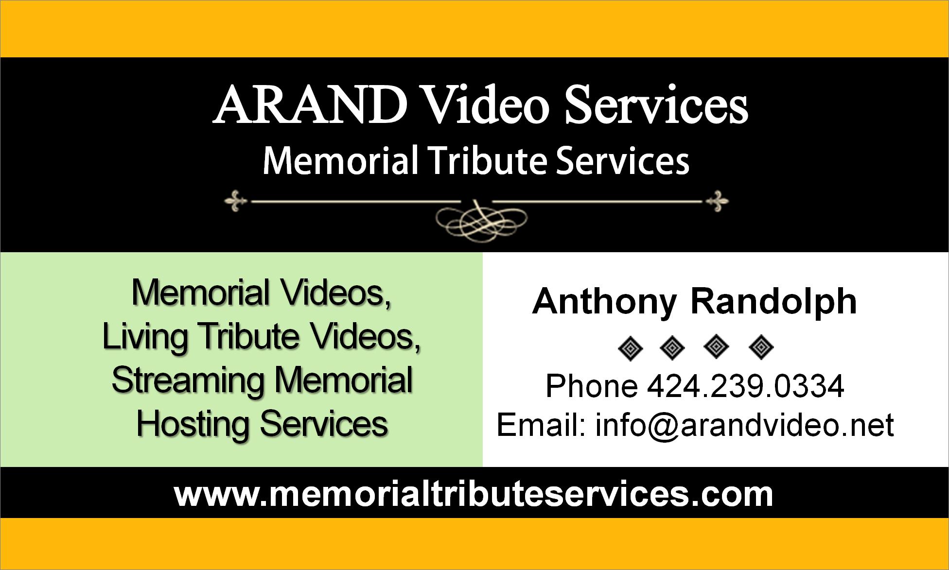 Memorial Video Services