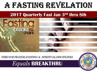 A Fasting Revelation