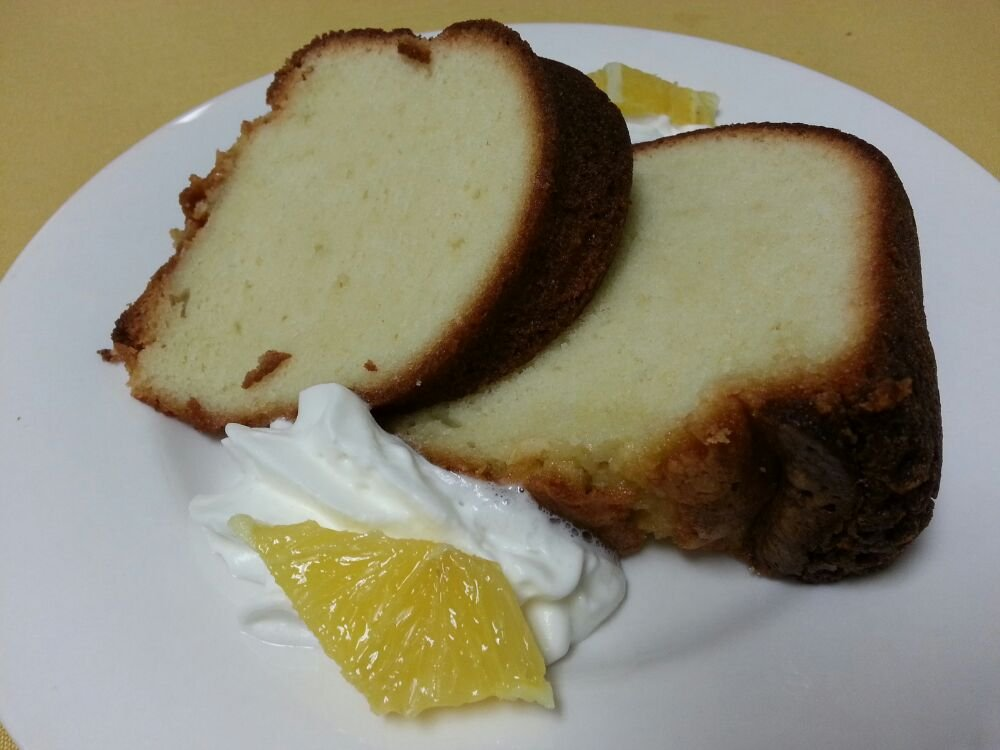 ALMOND & CREAM POUND CAKE