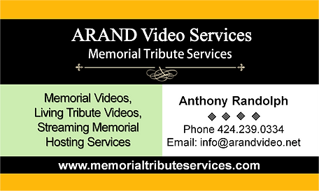 Memorial Tribute Services