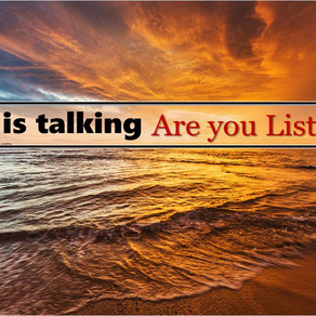 God is Talking – Are You Listening