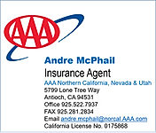 Andre' McPhail, Agent AAA