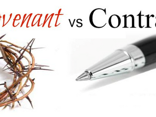 A Covenant is Better than a Contract!