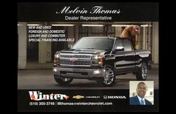 Melvin Thomas auto sales