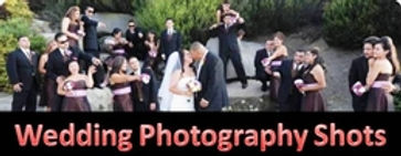 Wedding photo shots