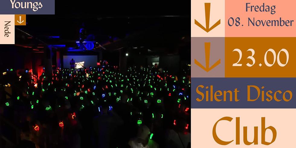 Utsolgt! Silent Disco Club // Youngs Nede // Fredag 08. November 2019