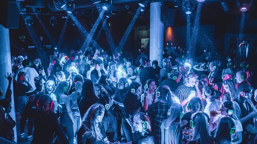 Silent Disco Club på Youngs © Silent Disco Club / Mathias Rygh