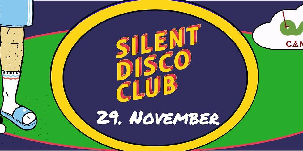 Silent Disco Club // Oslo Camping // Fredag 29. November