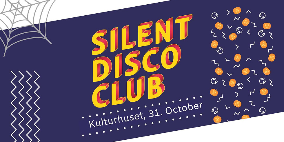 Silent Disco Club Halloween // Kulturhuset Oslo // Onsdag 31. Oktober