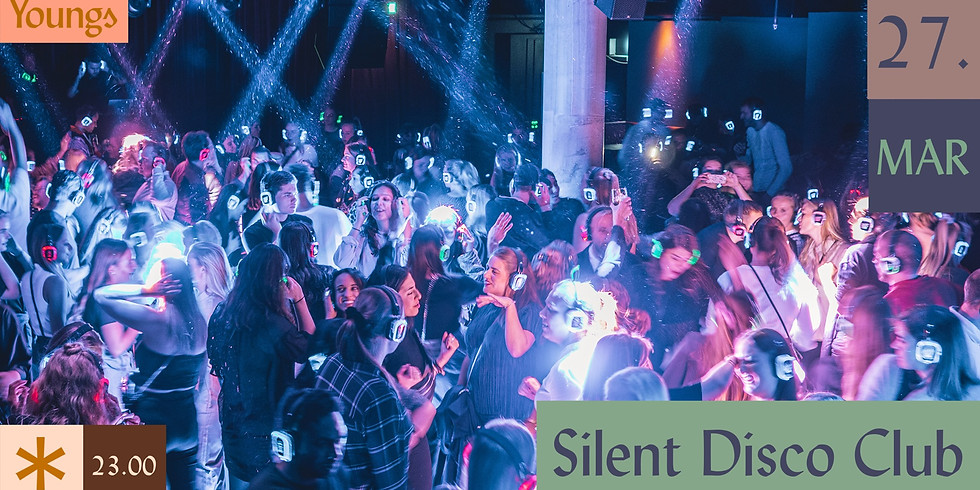 Silent Disco Club // Youngs Nede // Fredag 27. mars