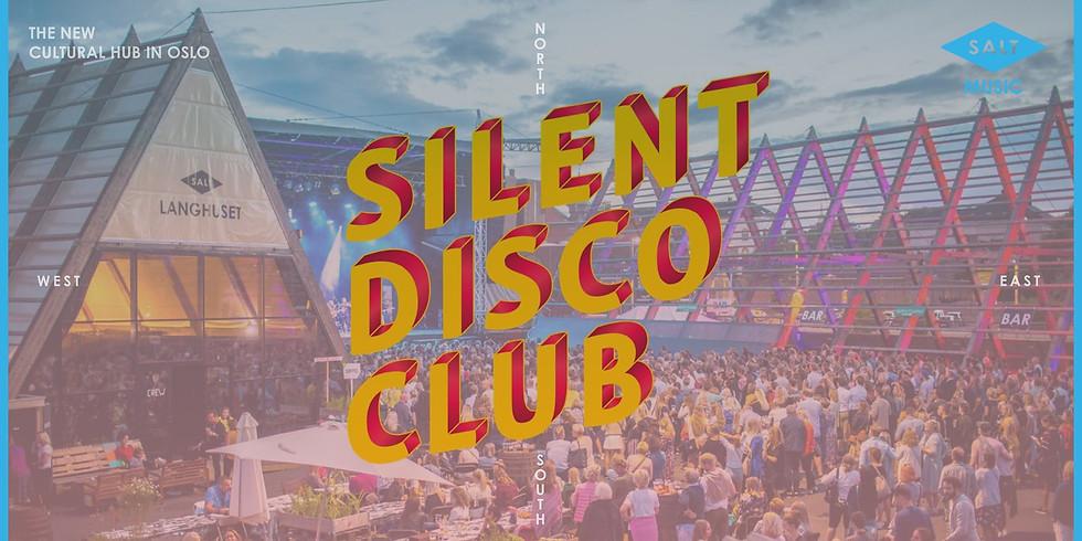 Silent Disco Club // SALT Oslo // Lørdag 18 & 25. juli