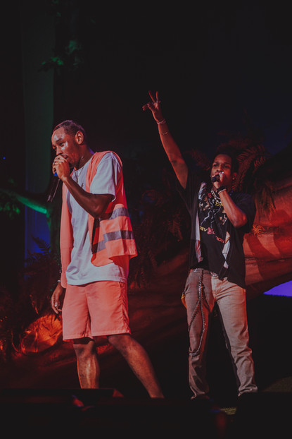 Tyler the Creator and A$AP Rocky