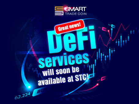 Booom for DeFi  Best specialists and new services coming soon to Smart Trade GO