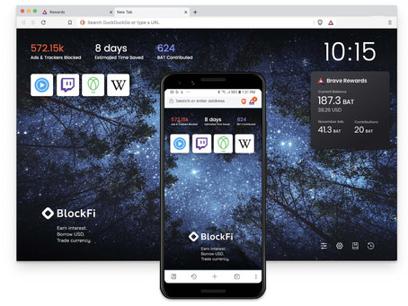 Sponsored Images now available on all Brave platforms, rewarding users who opt into Brave Rewards