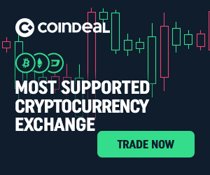 Earn with Coindeal exchange by inviting friends.