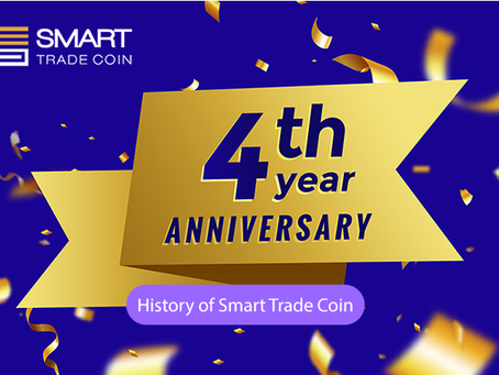 Newsletter from Smart Trade Coin 02/2021 | History about STC | Upcoming 4th anniversary