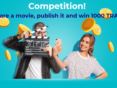 Smart Trade GO announces a competition. 1000 TRADE tokens worth 1870$ to be won