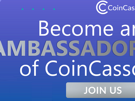Free IEO Listing and Ambassador Program on CoinCasso cryptocurrency exchange