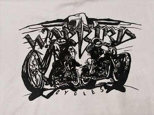 """Warbird Cycles """"Shop Shirt"""""""
