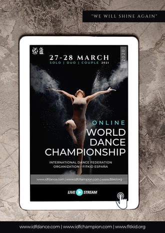 WORLD DANCE CHAMPIONSHIP - SOLOS DÚOS