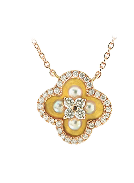 In Europe with Love Luminescence Necklace - Caratell Fine Jewellery Collection