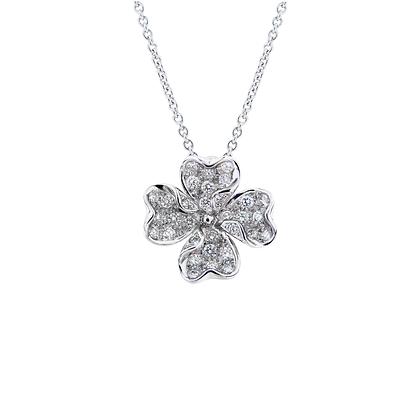 Clover Diamond Pendant