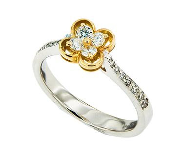 In Europe with Love Ring - Caratell Fine Jewellery Collection