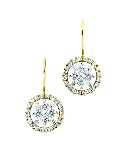 In Europe with Love Earrings - Caratell Fine Jewellery Collection