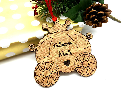 Xmas Ornament - Carriage