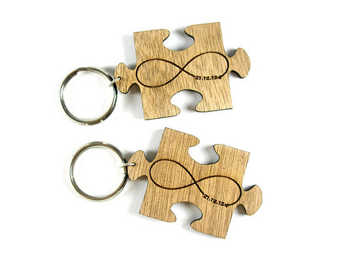 Puzzle Keychains - Infinity
