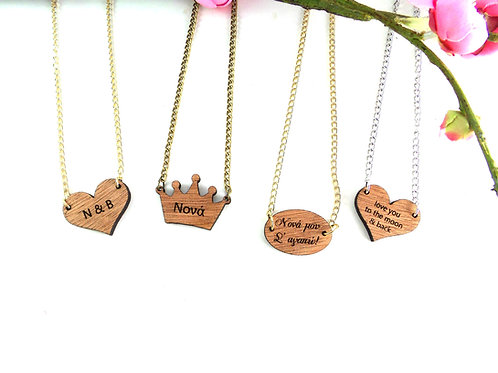 The Little Custom Necklace