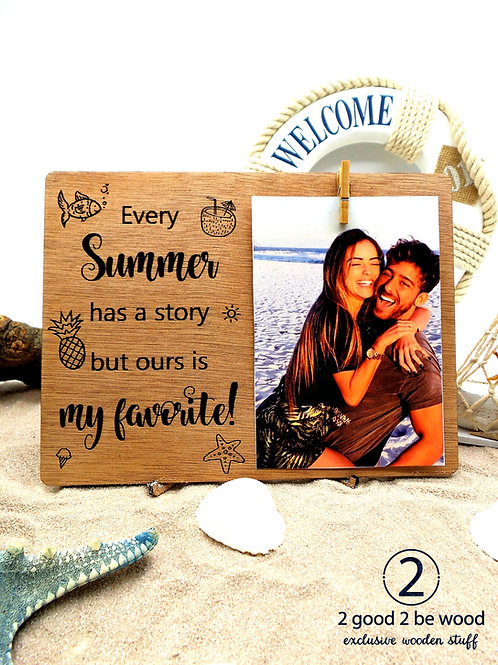 Modern Photo Frame - Summer Story