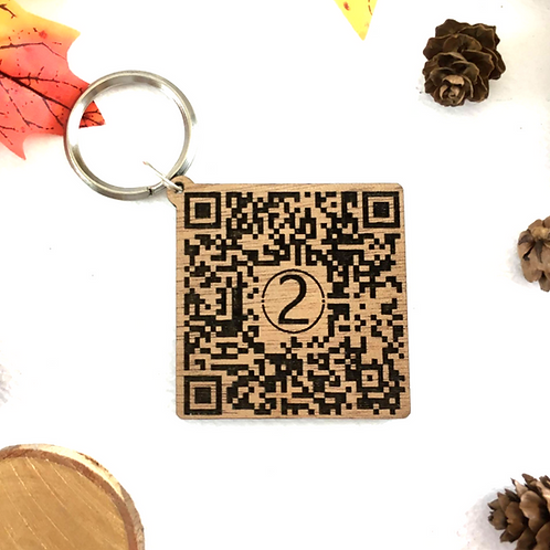 QR Code - Custom Keychain