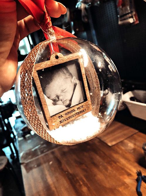Xmas Snowball - Polaroid