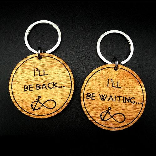 I'll Be Back / I'll Be Waiting - Set of 2