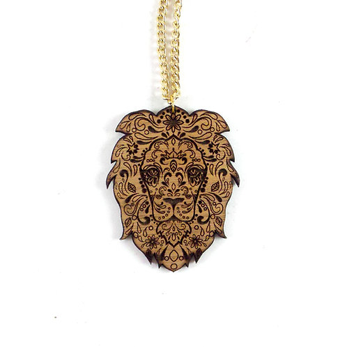 Sugar Lion  Necklace