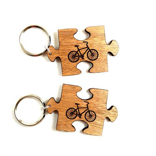 Puzzle keychains - Bike