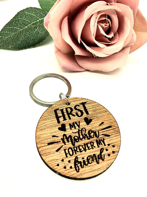 First my Mother Keychain