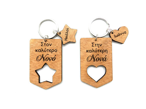 Label Keychain