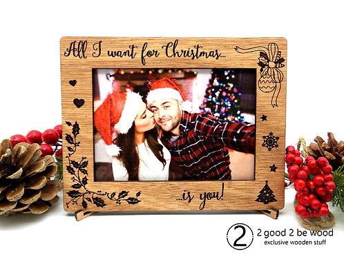 Couple Xmas Photo Frame