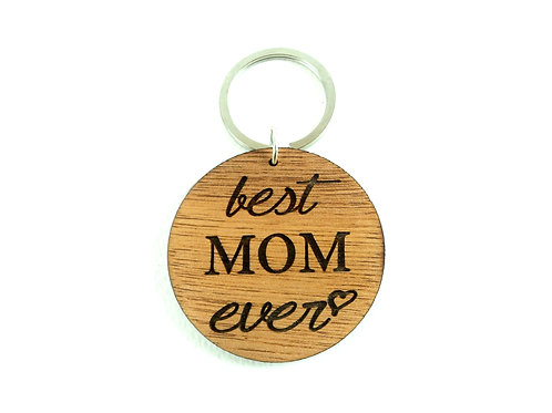 Best MOM ever keychain