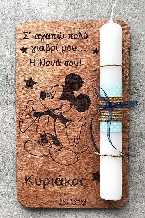 Λαμπάδα Mickey