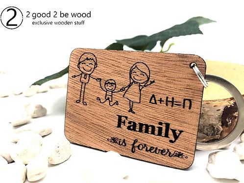 Custom Family Keychain